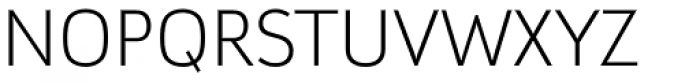 Argumentum UltraLight Font UPPERCASE