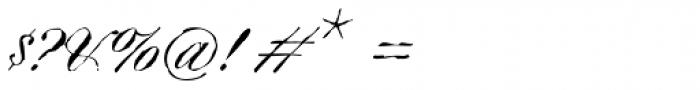 Argyle Rough Font OTHER CHARS