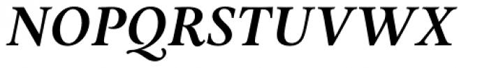 Aria Text G3 Semi Bold Italic Font UPPERCASE