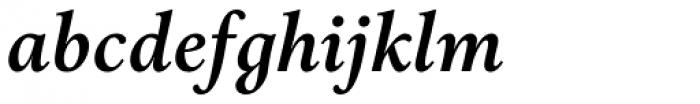Aria Text G3 Semi Bold Italic Font LOWERCASE