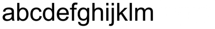 Arial MT Font LOWERCASE