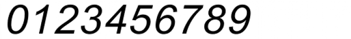Arial Monospaced MT Oblique Font OTHER CHARS