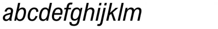Arial Nova Condensed Italic Font LOWERCASE