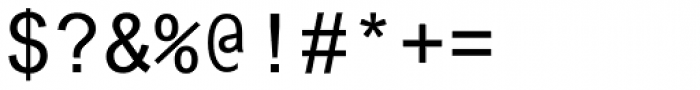 Arial Pro Monospaced Regular Font OTHER CHARS