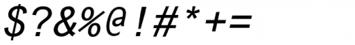 Arial Std Monospaced Oblique Font OTHER CHARS