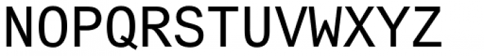 Arial Std Monospaced Regular Font UPPERCASE