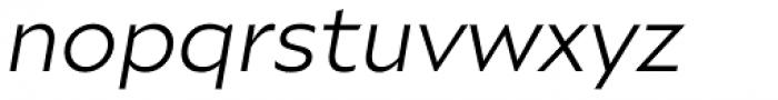 Ariana Pro Book Italic Font LOWERCASE