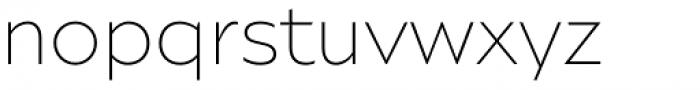 Ariana Pro Ultra Light Font LOWERCASE