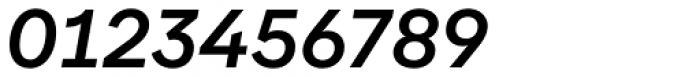Aribau Grotesk Medium Italic Font OTHER CHARS