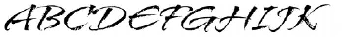 Arid Font UPPERCASE