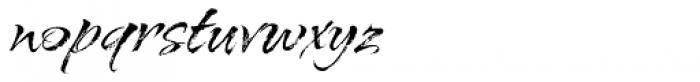 Arid Font LOWERCASE
