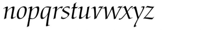 Arioso Font LOWERCASE