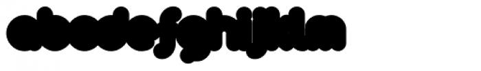 Arista 2.0 Fat Font LOWERCASE