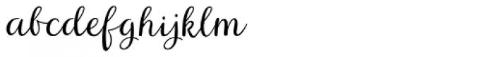 Aristelle Script Font LOWERCASE