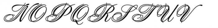 Aristocrat Com Font UPPERCASE