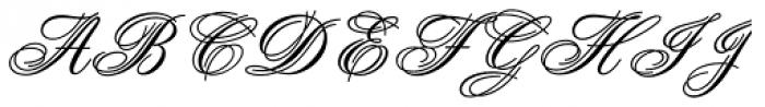 Aristocrat Std Font UPPERCASE
