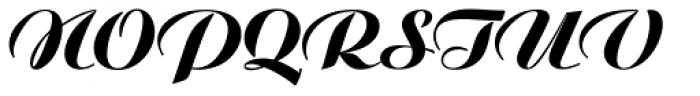 Ariston BQ Extra Font UPPERCASE
