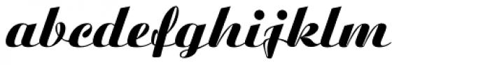 Ariston BQ Extra Font LOWERCASE