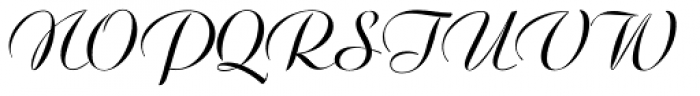 Ariston BQ Regular Font UPPERCASE