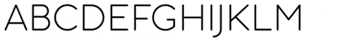 Aristotelica Text Extra Light Font UPPERCASE