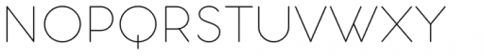 Aristotelica Text Thin Font UPPERCASE