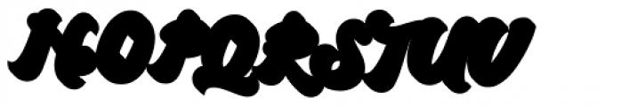 Arkana Extrude Font UPPERCASE