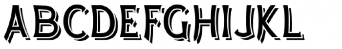 Arkwright Grand Font UPPERCASE