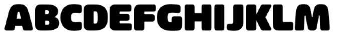 Arlon Black Font UPPERCASE