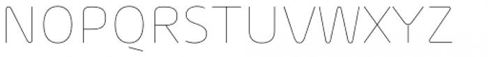 Arlon Thin Font UPPERCASE