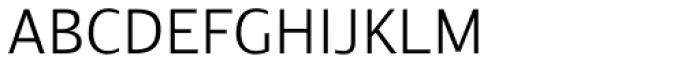 Arlonne Sans Pro Light Font UPPERCASE