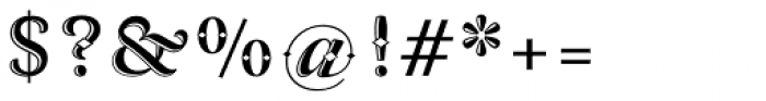 Arlt Deco 1 Font OTHER CHARS