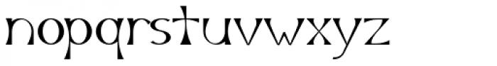 Arlune Font LOWERCASE