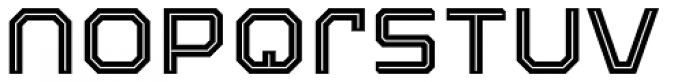 Armadura Inline Font LOWERCASE