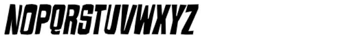 Armageda Condensed Italic Font UPPERCASE