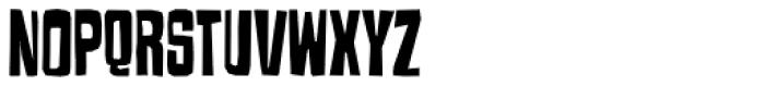 Armageda Condensed Font UPPERCASE