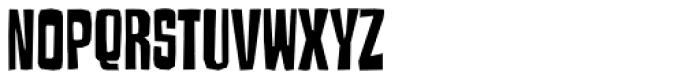 Armageda Condensed Font LOWERCASE