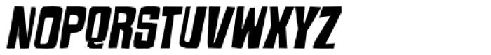 Armageda Italic Font UPPERCASE