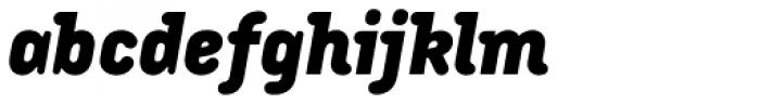 Armature Neue Black Italic Font LOWERCASE