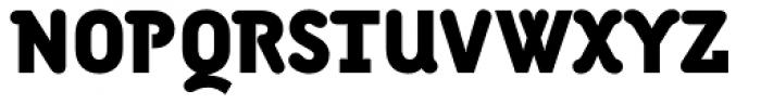 Armature Neue Black Font UPPERCASE