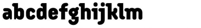 Armature Neue Black Font LOWERCASE