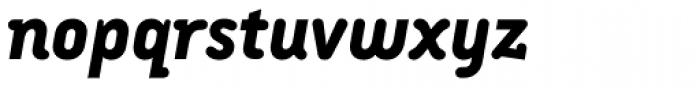 Armature Neue ExtraBold Italic Font LOWERCASE