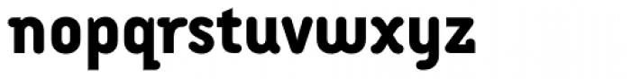 Armature Neue ExtraBold Font LOWERCASE