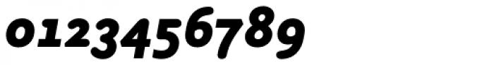 Armature Neue Sans Black Italic Font OTHER CHARS