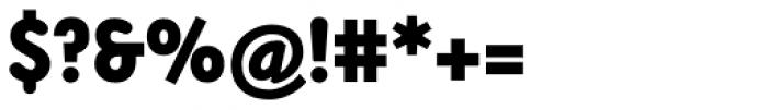 Armature Neue Sans Black Font OTHER CHARS