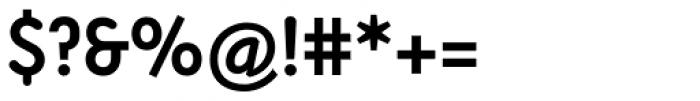 Armature Neue Sans Bold Font OTHER CHARS
