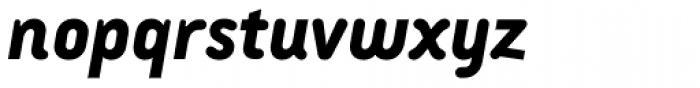 Armature Neue Sans ExtraBold Italic Font LOWERCASE