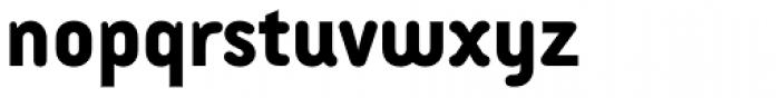 Armature Neue Sans ExtraBold Font LOWERCASE