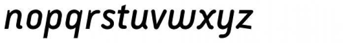 Armature Neue Sans Italic Font LOWERCASE
