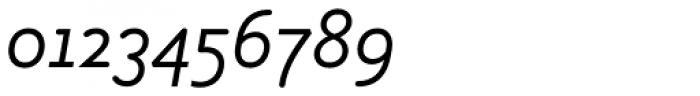Armature Neue Sans Light Italic Font OTHER CHARS