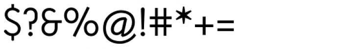 Armature Neue Sans Light Font OTHER CHARS